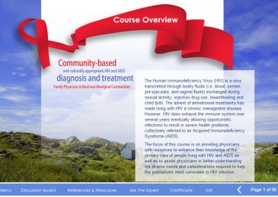 Online Course: HIV